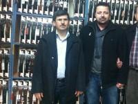 Yalıhüyük Dernek Başkanı Mehmet Ali Yılmazı İş yerinde Ziyaret ettik.
